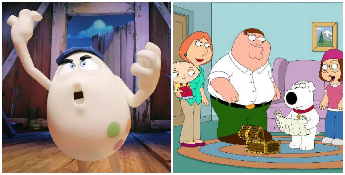 Huevo Cartoon quiere competir con la serie de Fox, 'Family Guy'.