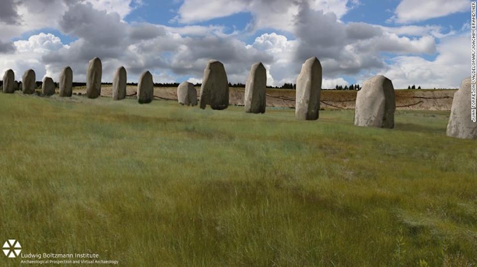 ¿Un nuevo 'Superhenge'? Se encuentran restos cerca de Stonehenge.