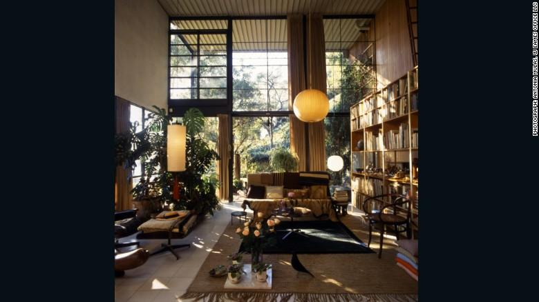 La sala de la pareja Eames.