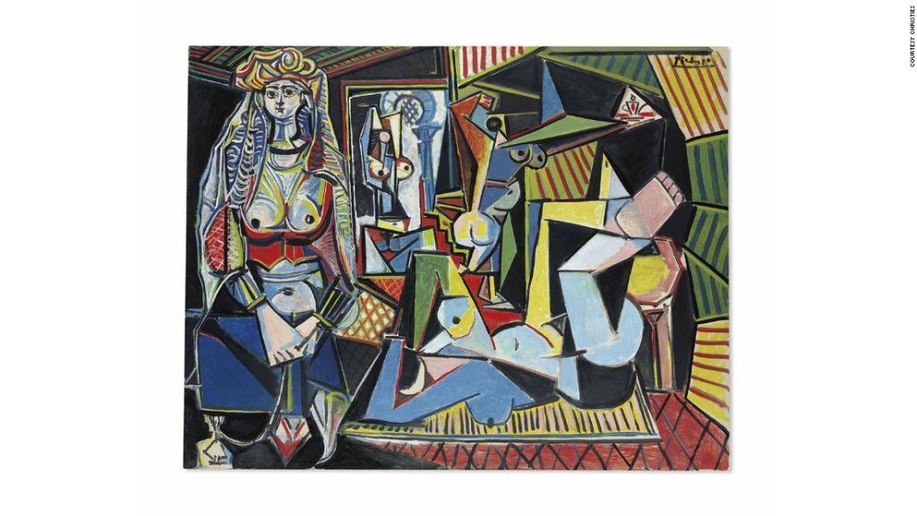 'Les femmes d'Alger' de Picasso