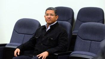 El expresidente de El Salvador Francisco Flores fue acusado de corrupción a raíz de los manejos de las donaciones de Taiwan para las víctimas de los terremotos (Crédito: Marvin Recinos/AFP/Getty Images)