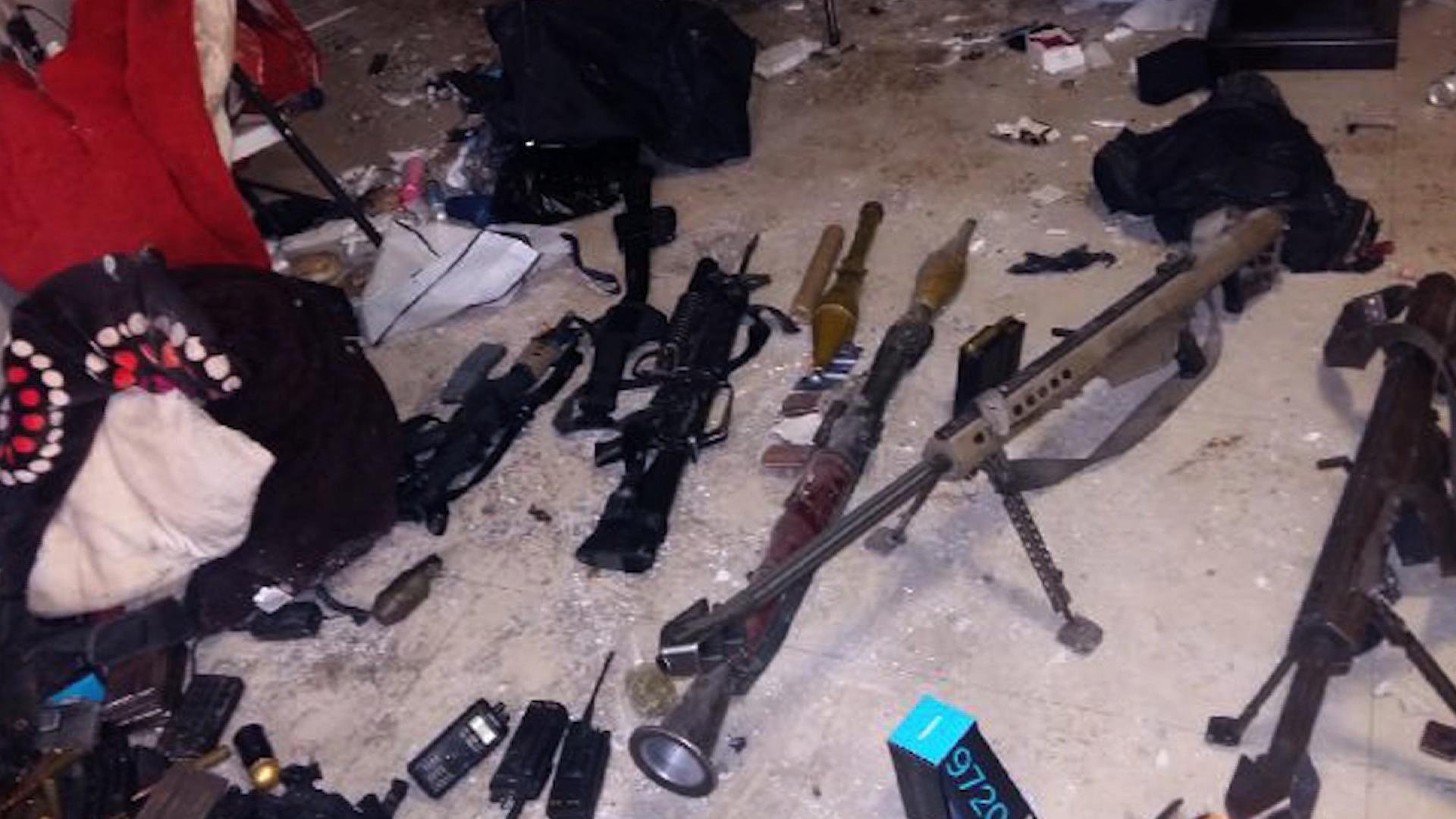 'El Chapo' fue recapturado en el sector de Los Mochis en Sinaloa. (Crédito: SEMAR)