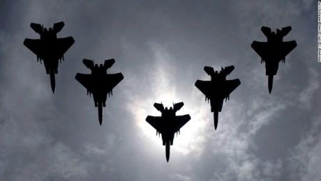 Por Qué La Fuerza Aérea De Estados Unidos Envía Cazas F 15 A Finlandia Cnn