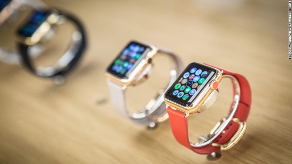 El Apple Watch viene en tres modelos. El más barato cuesta 349 dólares. (Crédito: Getty Images)