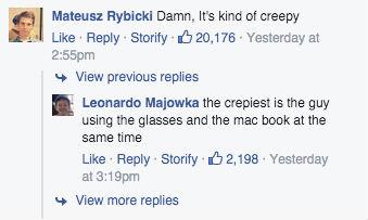 zukerberg facebook barcelona comentarios