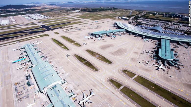 Aeropuerto Incheon de Seúl.