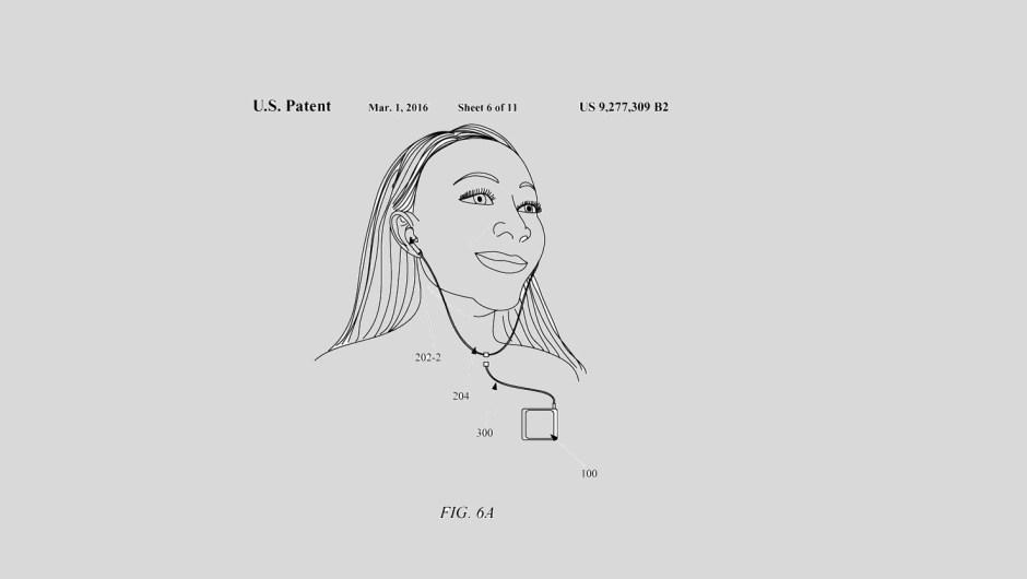 Apple recibió la aprobación de una patente para auriculares híbridos inalámbricos.