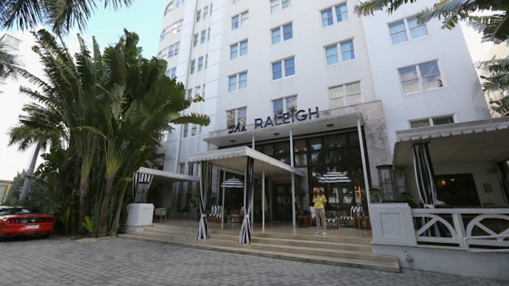 Hotel Raleigh en Miami. (Crédito: Getty Images)