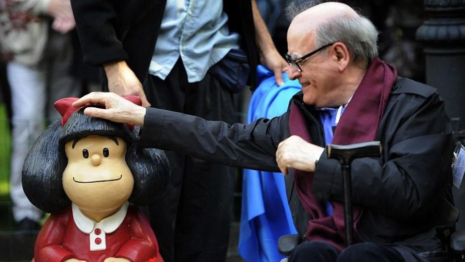 Muere Quino mafalda