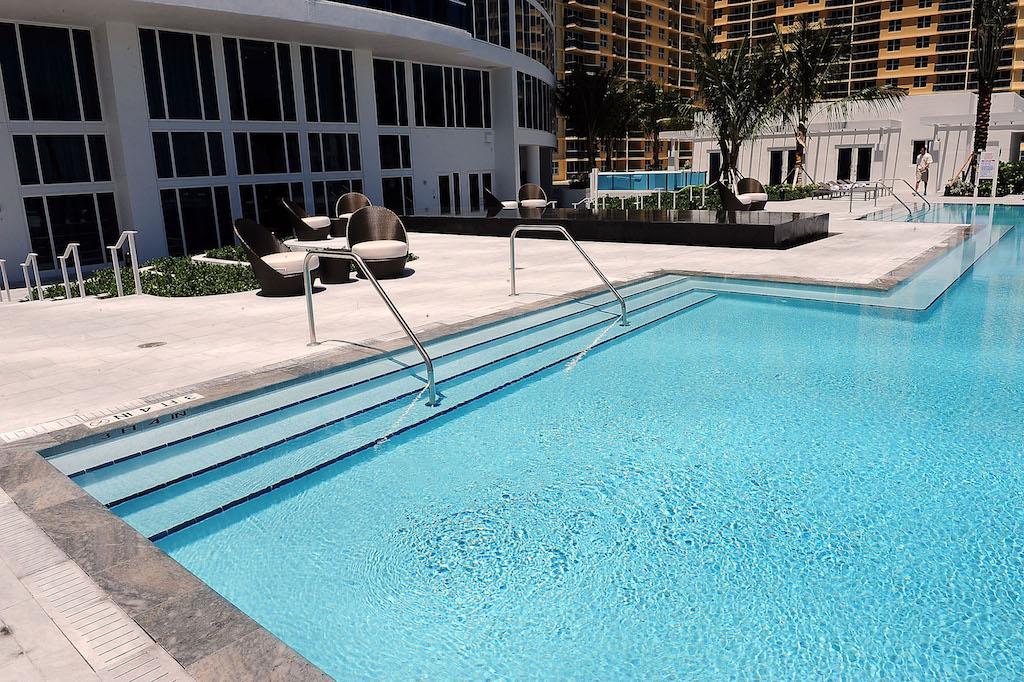 La piscina en el hotel Trump Hollywood en Florida, en una foto de 2009.