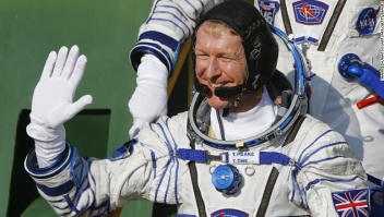 Tim Peake, astronauta británico.