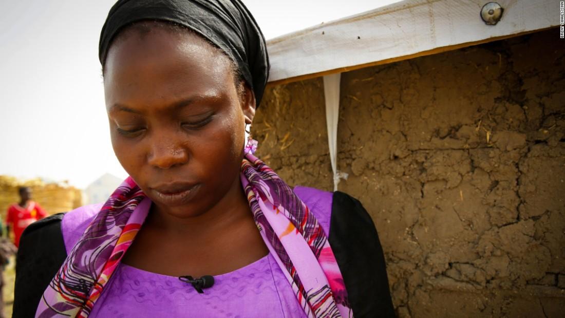 Fasumata dejó todo atrás para escapar de Boko Haram. Siente que es afortunada.
