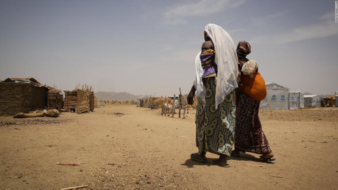 """""""Lo que Boko Haram está haciendo es terrible"""", dice Fati."""