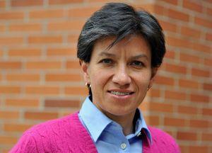 Claudia López, senadora (Crédito: GUILLERMO LEGARIA/AFP/Getty Images)