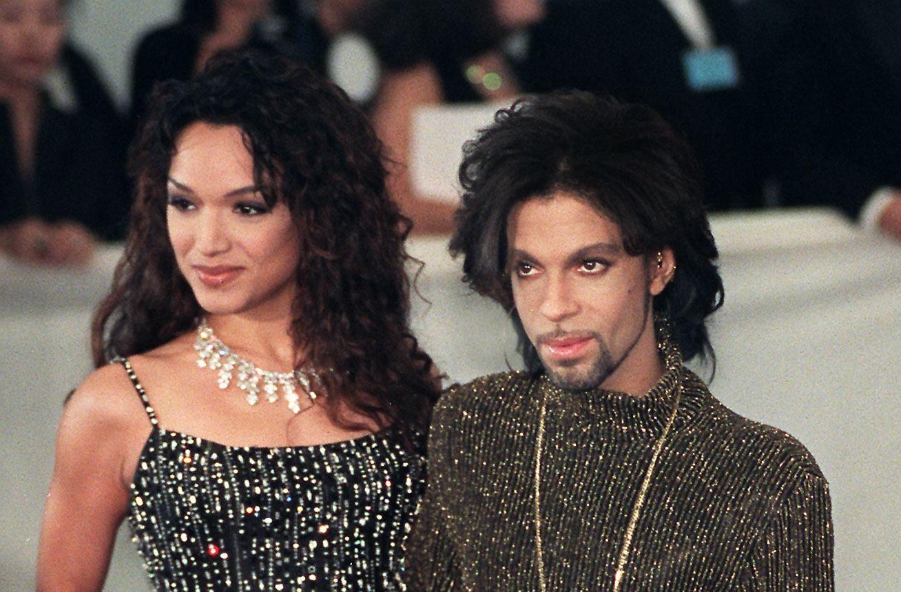 Mayte fue esposa de Prince durante dos años. Perdieron dos hijos (Crédito: SINEAD LYNCH/AFP/Getty Images)