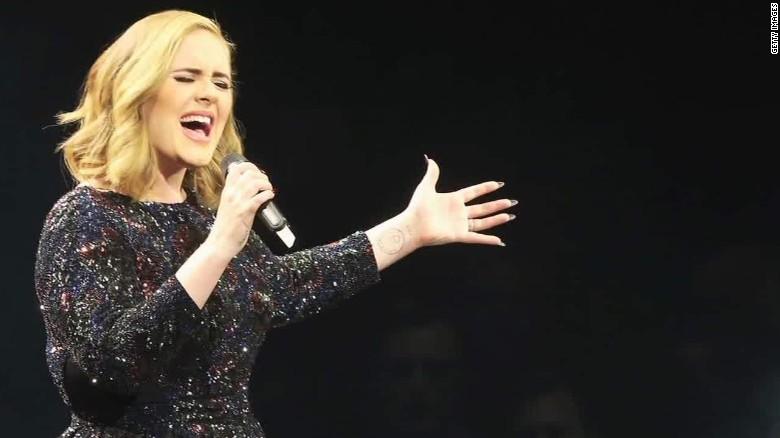 Así lucía Adele cuando la descubrieron... en Myspace | CNN