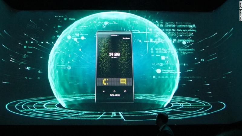 El teléfono es la creación de la empresa tecnológica israelí Sirin Labs.