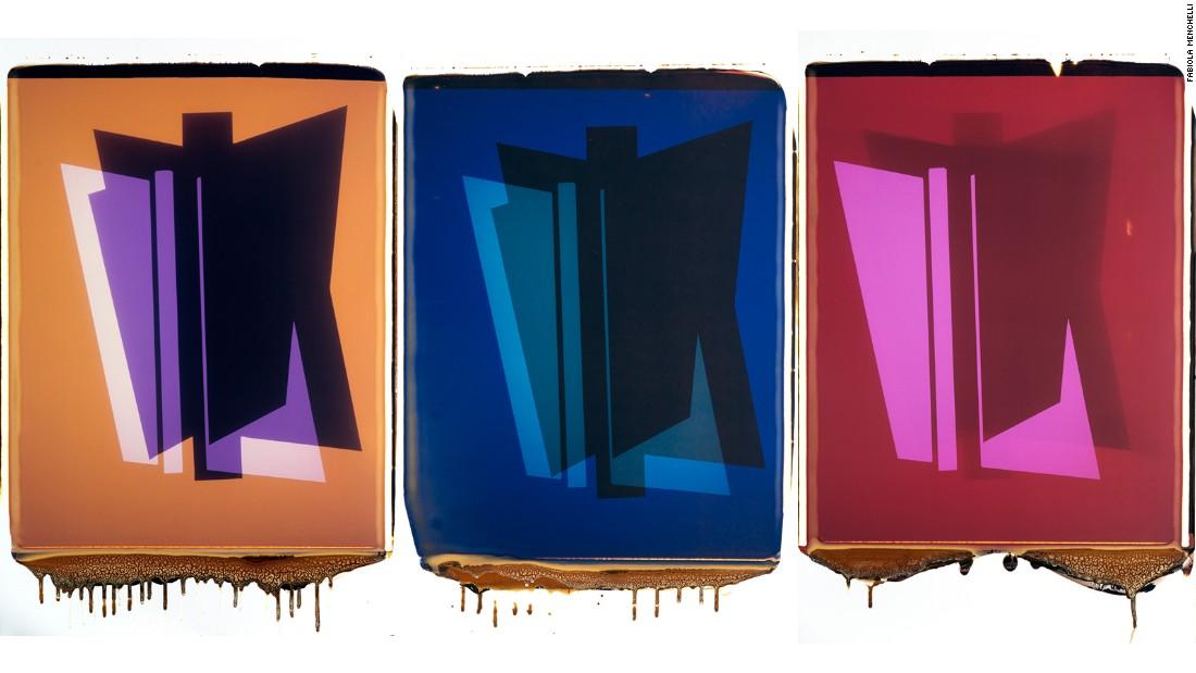 Una muestra de la serie 'Polaroids' (2013).
