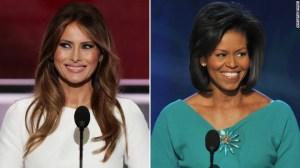 Partes del discurso de Melania Trump, plagiadas del pronunciado por Michelle Obama en 2008