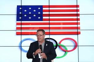 Scott Blackmun, presidente del Comité Olímpico de Estados Unidos (Crédito: Joe Scarnici/Getty Images)