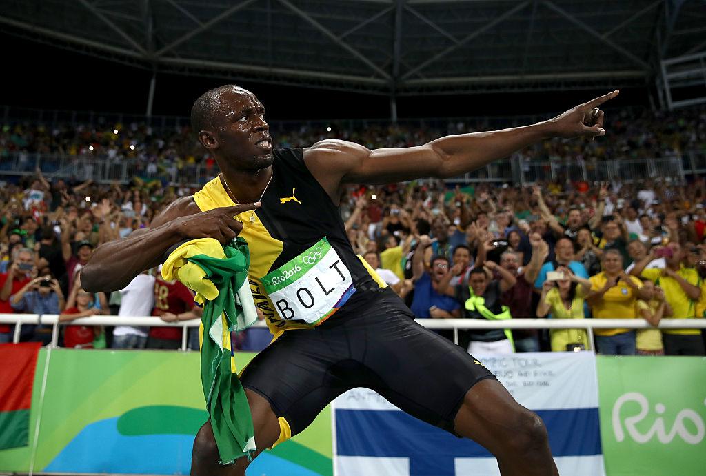 Usain Bolt lo había logrado: ganó su tercera medalla de oro en Río, su novena en tres olimpiadas seguidas, y consiguió el histórico 'triple-triple'. (Crédito: Cameron Spencer/Getty Images)