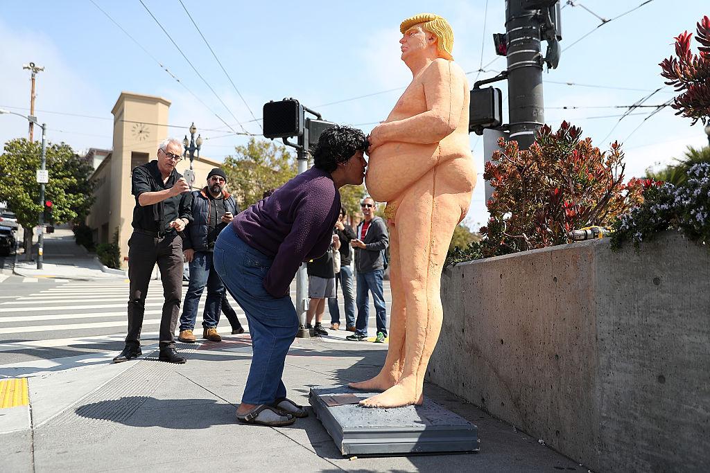 Prohíben en EEUU un cuadro de Donald Trump • El Nuevo Diario