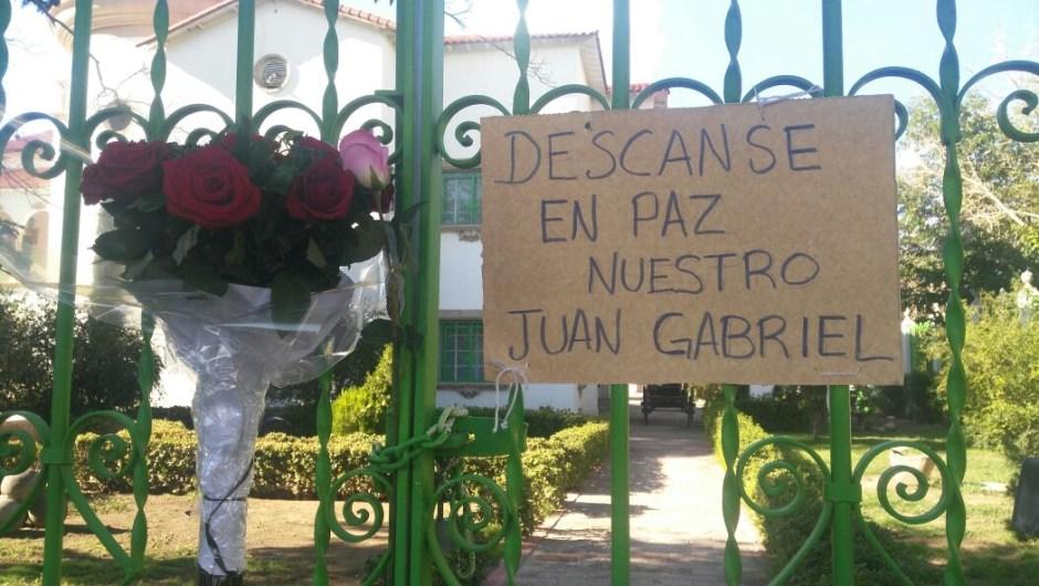 Gente casa Juan Gabriel muerte Ciudad Juárez