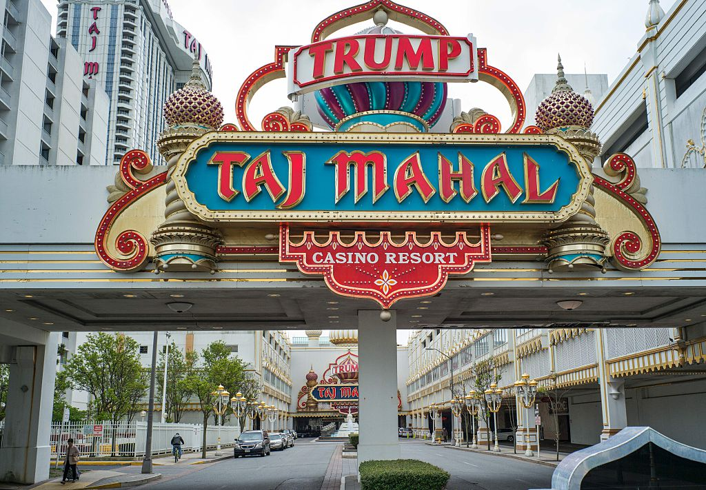Taj Mahal Casino en Atlantic City(CRédito: JEWEL SAMAD/AFP/Getty Images)