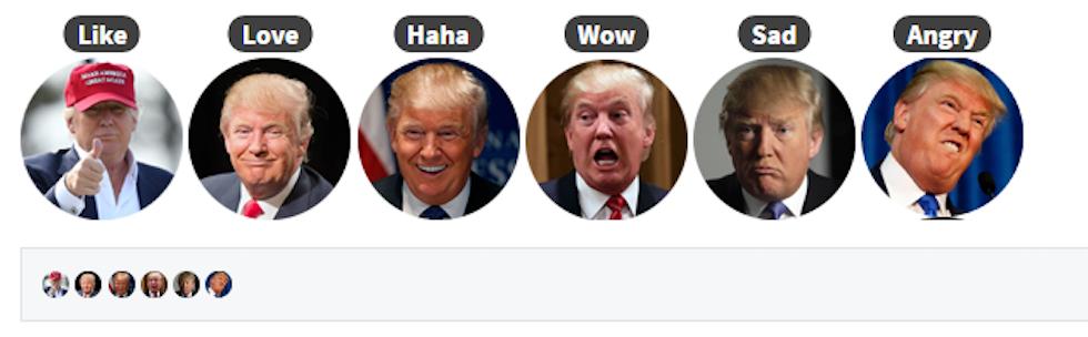 Trump-reax-likes