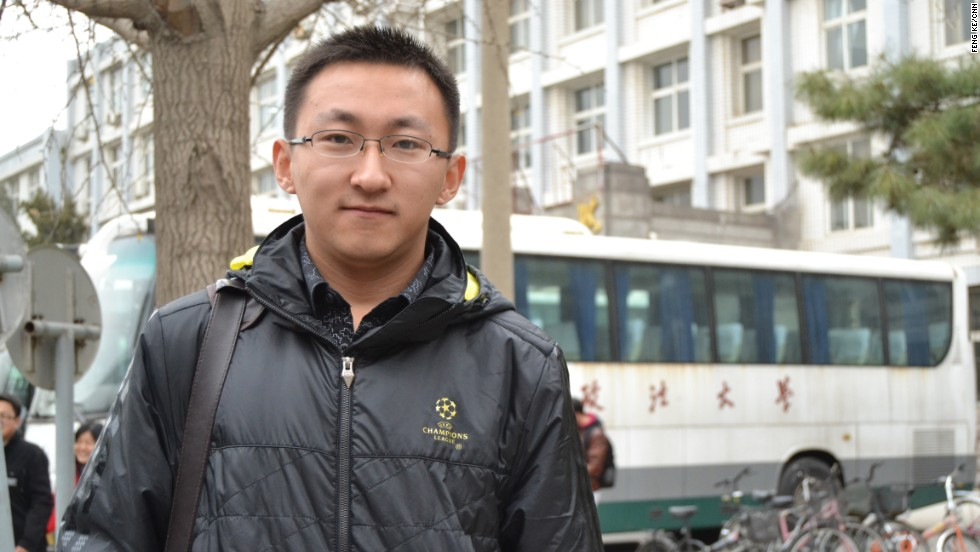 Wang Zixu dice que se sintió muy seguro después de presentar el examen para trabajar en el Servicio Civil chino.