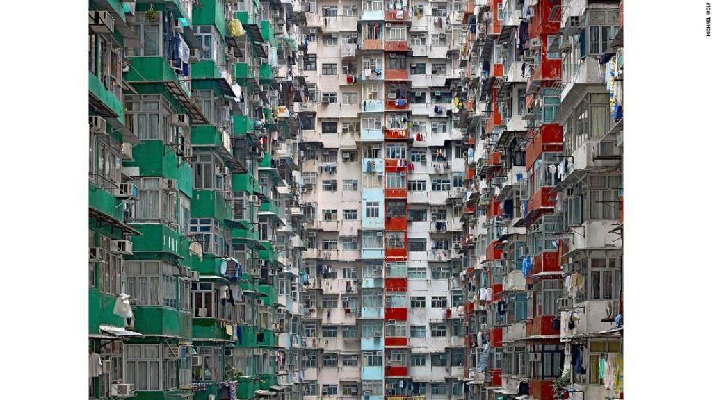 """""""Architecture Density"""" o """"Arquitectura Densa"""" - Wolf reside actualmente en Hong Kong, donde se tomó esta foto."""