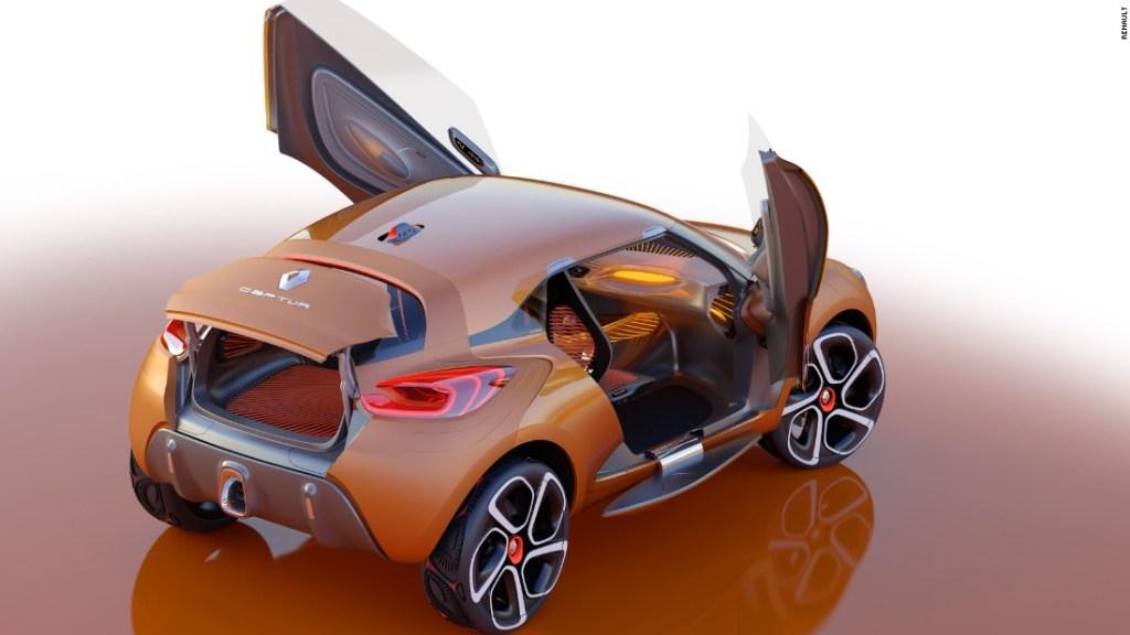 Renault DeZir - El nombre DeZir de Renault viene de la palabra francesa para el deseo, y fue lanzado en 2010 para entusiasmar nuevamente a la gente con la marca Renault.