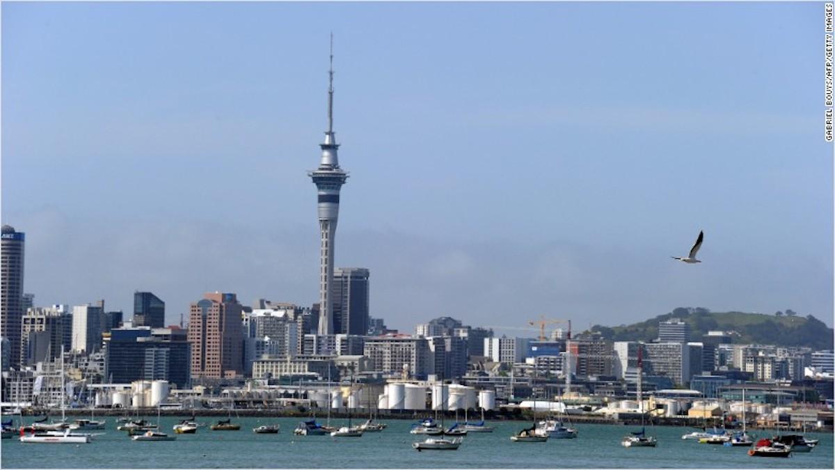 Vista de Auckland, la capital de Nueva Zelandia, el país que según el Banco Mundial es el mejor del mundo para hacer negocios.