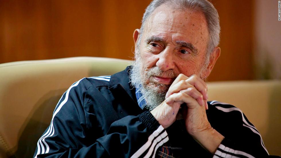 En sus últimos años era común ver a Fidel Castro con ropa deportiva de marcas reconocidas, en especial Adidas