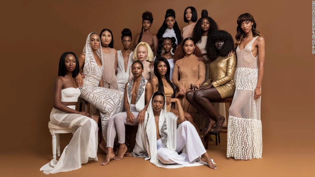 La campaña, liderada por la agencia creativa The Colored Girl, busca promover la diversidad de percepciones sobre la belleza en la industria de la moda.