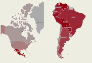 INFOGRAFÍA: las cifras de inseguridad en Latinoamérica
