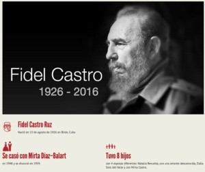 Lee: Fidel Castro en 16 datos.