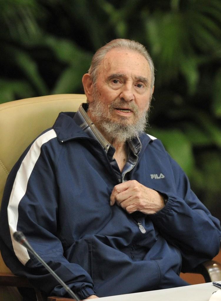 19 de abril de 2011 | Fidel Castro durante el VI Congreso del Partido Comunista de Cuba. (Crédito: ADALBERTO ROQUE/AFP/Getty Images)