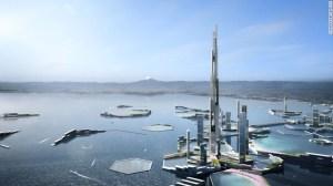 La torre residencial podrá albergar a 55.000 ocupantes.