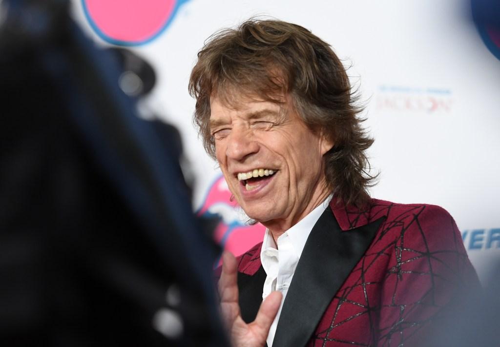 Mick Jagger durante la exposición 'Exhibitionism' de los Rolling Stones en Nueva York. (Crédito: ANGELA WEISS/AFP/Getty Images)