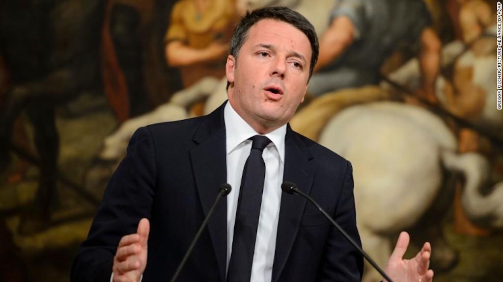 Matteo Renzi renunció a su cargo como primer ministro de Italia tras la derrota en el referendo constitucional del domingo.