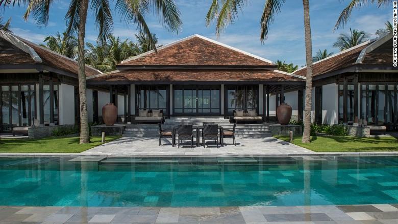 El Four Seasons Resort The Nam Hai también tiene 40 cabañas con piscina privada.