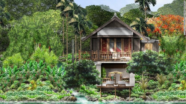 El Hotel Rosewood Luang Prabang (Laos) está rodeado de bosques tupidos, ríos y cascadas y se encuentra a solo 10 minutos en automóvil de Luang Prabang, incluido en la lista de Patrimonio Mundial de la Humanidad de la UNESCO.