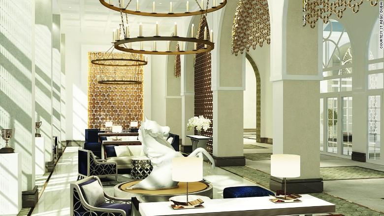 El Hotel St. Regis Dubai, Al Habtoor Polo Resort & Club (Dubai) es el sueño de todo jinete. Alberga 500 establos de una academia de polo y ofrece un espectáculo de salto y arenas de adiestramiento, además de una escuela de equitación.