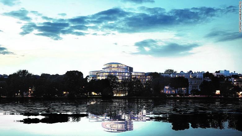 Localizado en la tranquila orilla del Lago Alster, The Fontenay será el primer hotel de lujo que se inaugure en Hamburgo (Alemania) en 18 años.