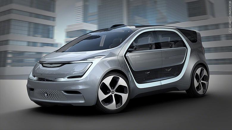 La tecnología está en el centro de todo el concepto del Portal, el prototipo de automóvil que acaba de presentar Chrysler.