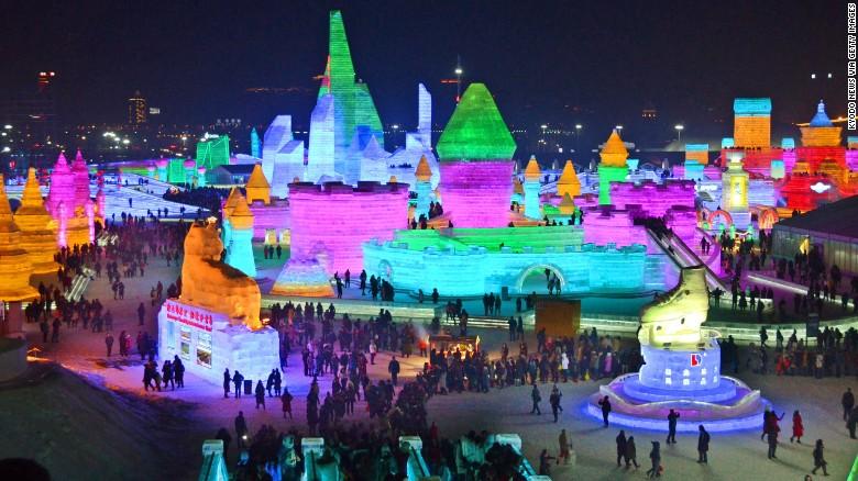 Festival del Hielo de Harbin 2017.