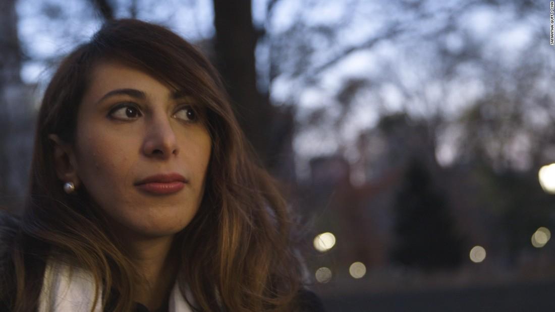 """Danah, otra mujer saudí que habló con CNN, vino a Estados Unidos para estudiar y dice que teme regresar a casa. """"Las mujeres en mi país están sufriendo"""", asegura."""