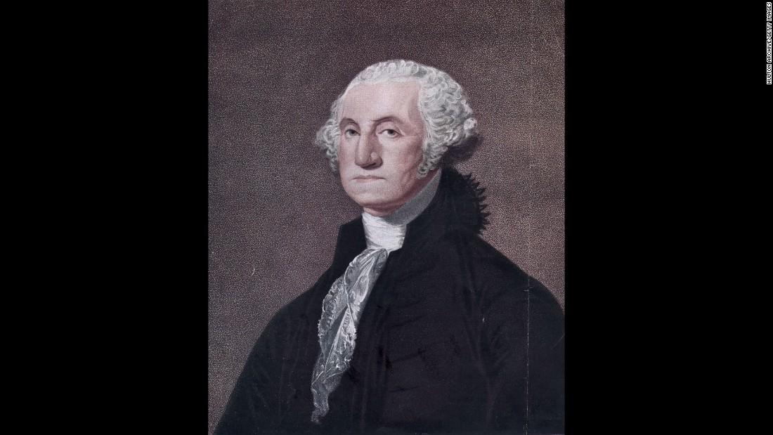 El presidente George Washington sentó un precedente en el juramento.