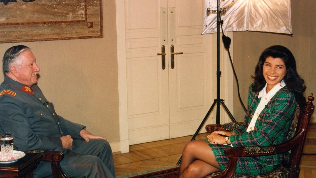 Augusto Pinochet entrevistado por Patricia Janiot.